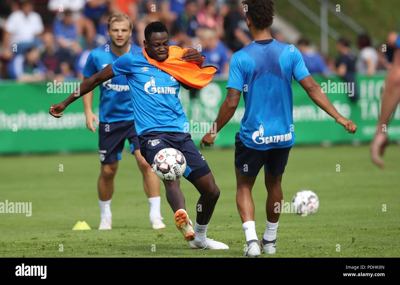 firo football, football, 03.08.2018 1st Bundesliga, season 2018/2019 Training in with fast training FC Schalke 04 Baba   usage worldwide - Stock Image
