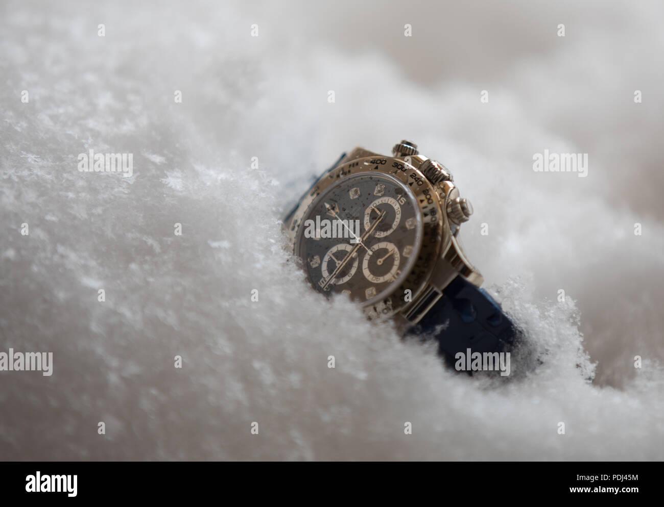Rolex Daytona 116519 - Stock Image