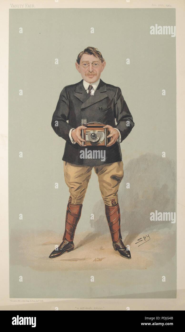 15 Charles Sydney Goldmann Vanity Fair 28 January 1904 - Stock Image