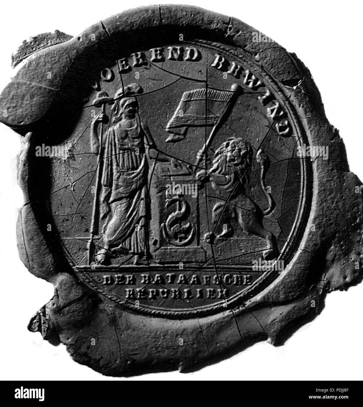 361 Uitvoerend Bewind der Bataafsche Republiek, 1799-10-19 - Stock Image