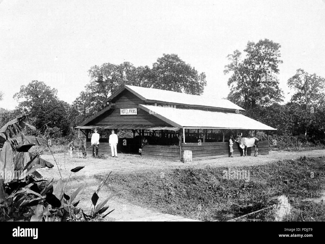 367 Veestal op zendingsplaats Saron, Suriname - Collectie stichting Nationaal Museum van Wereldculturen - TM-10018947 - Stock Image