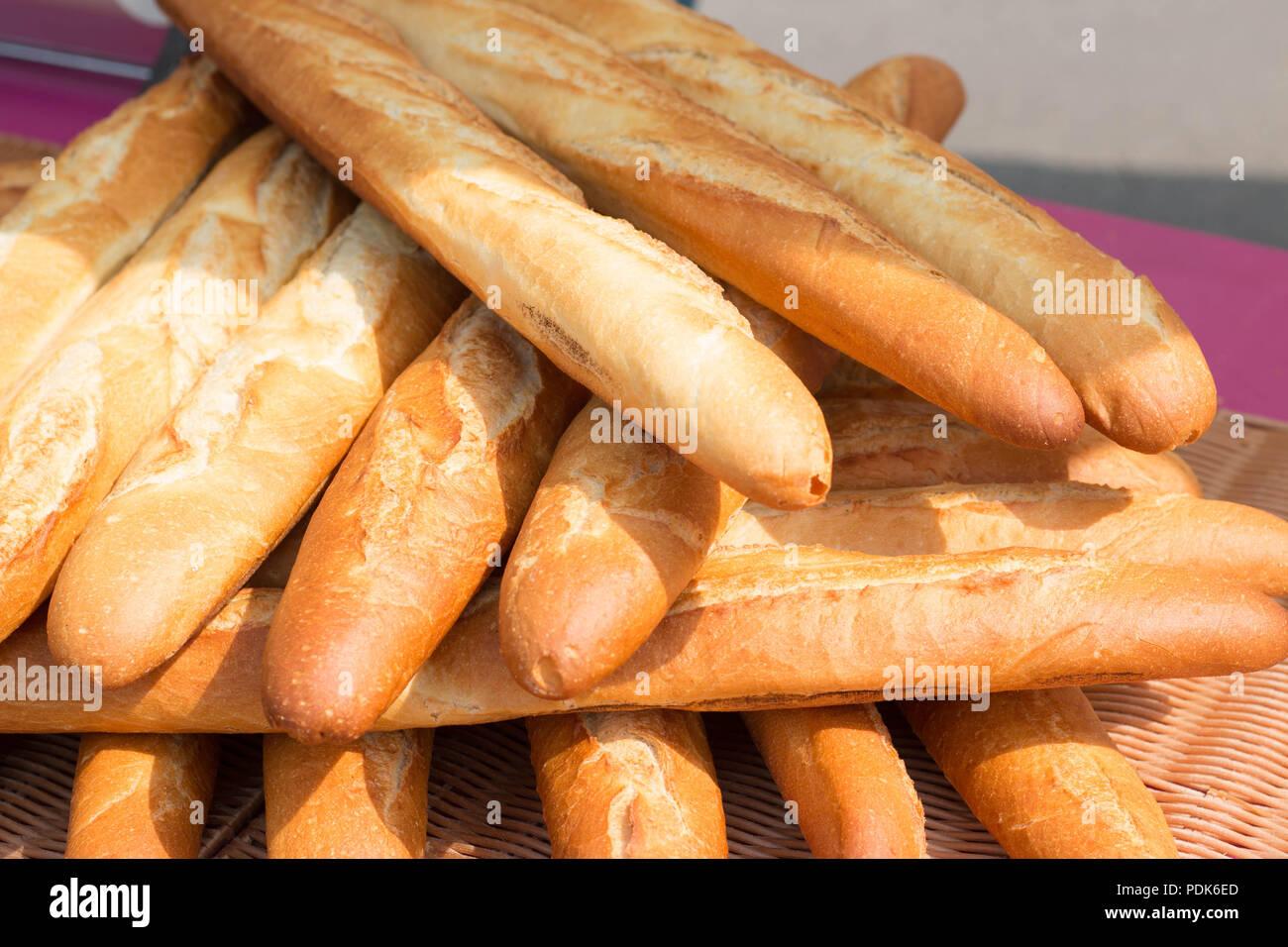 Baguette En Bois Decorative boulangerie baguette stock photos & boulangerie baguette