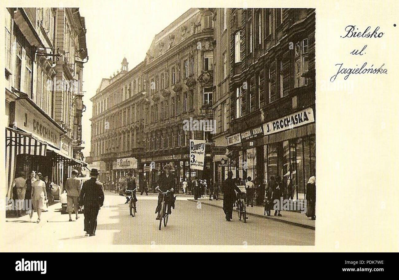 80 Bielsko-Biała, 11 Listopada 1938 - Stock Image