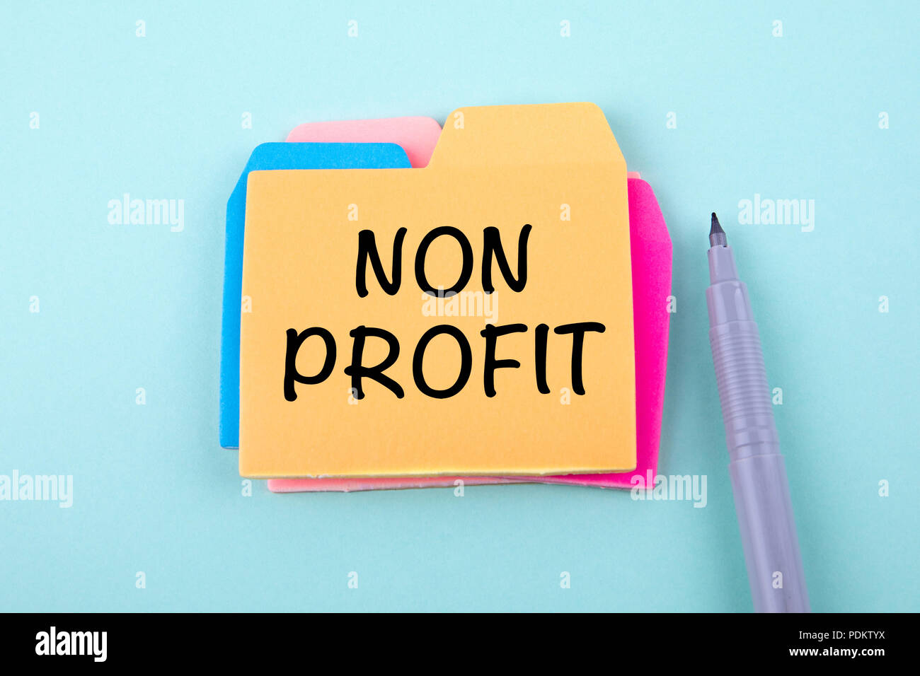 Non Profit, Business Concept - Stock Image