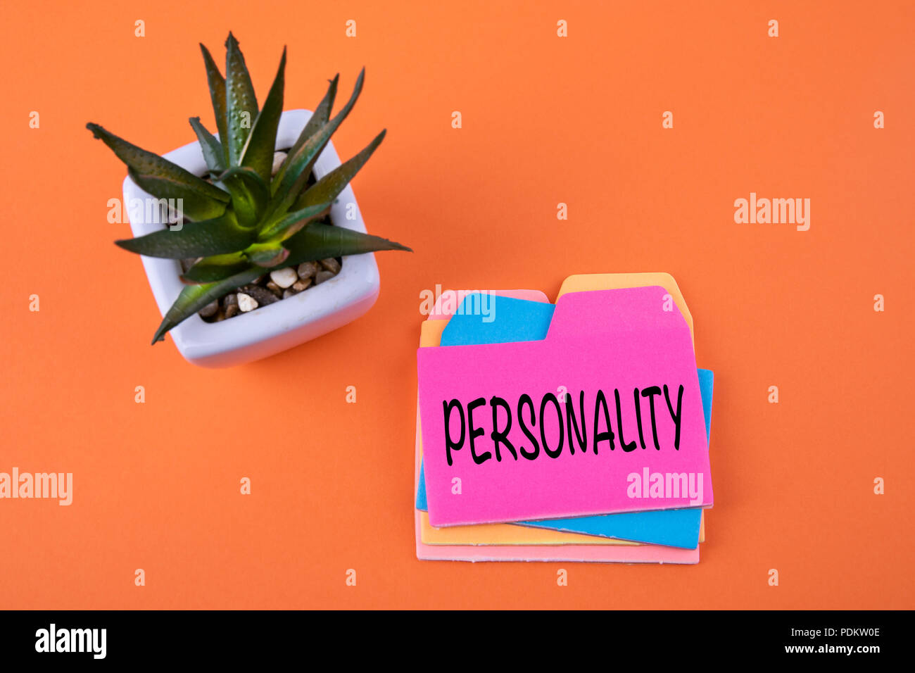 Personality, Business Concept - Stock Image