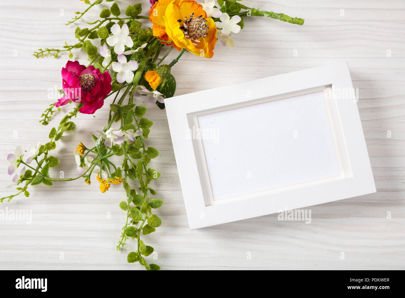 20 Florist Message Cards White Flowers Message Cards Wedding Birthday Blank
