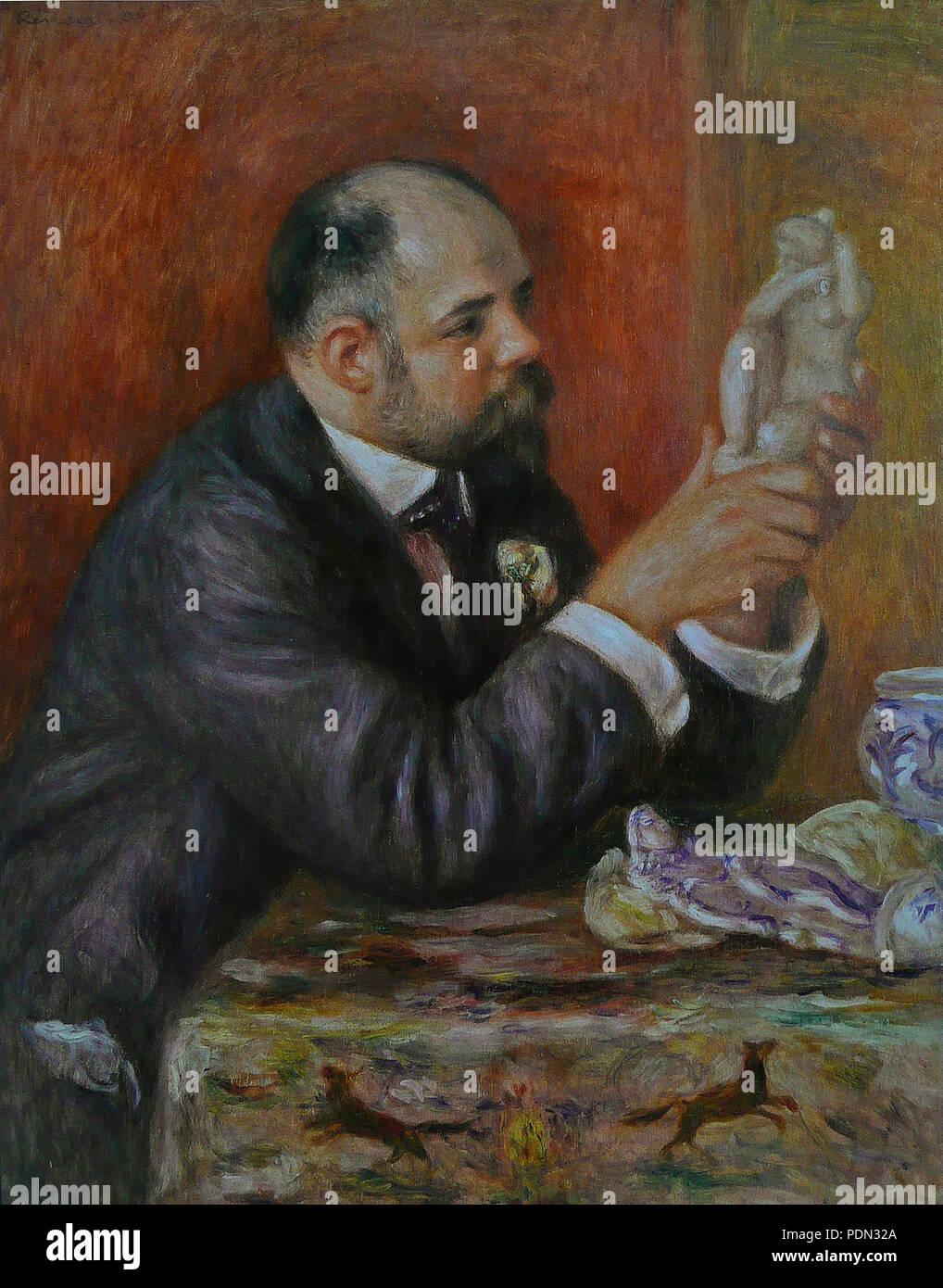 27 Pierre-Auguste Renoir - Ambroise Vollard - Stock Image