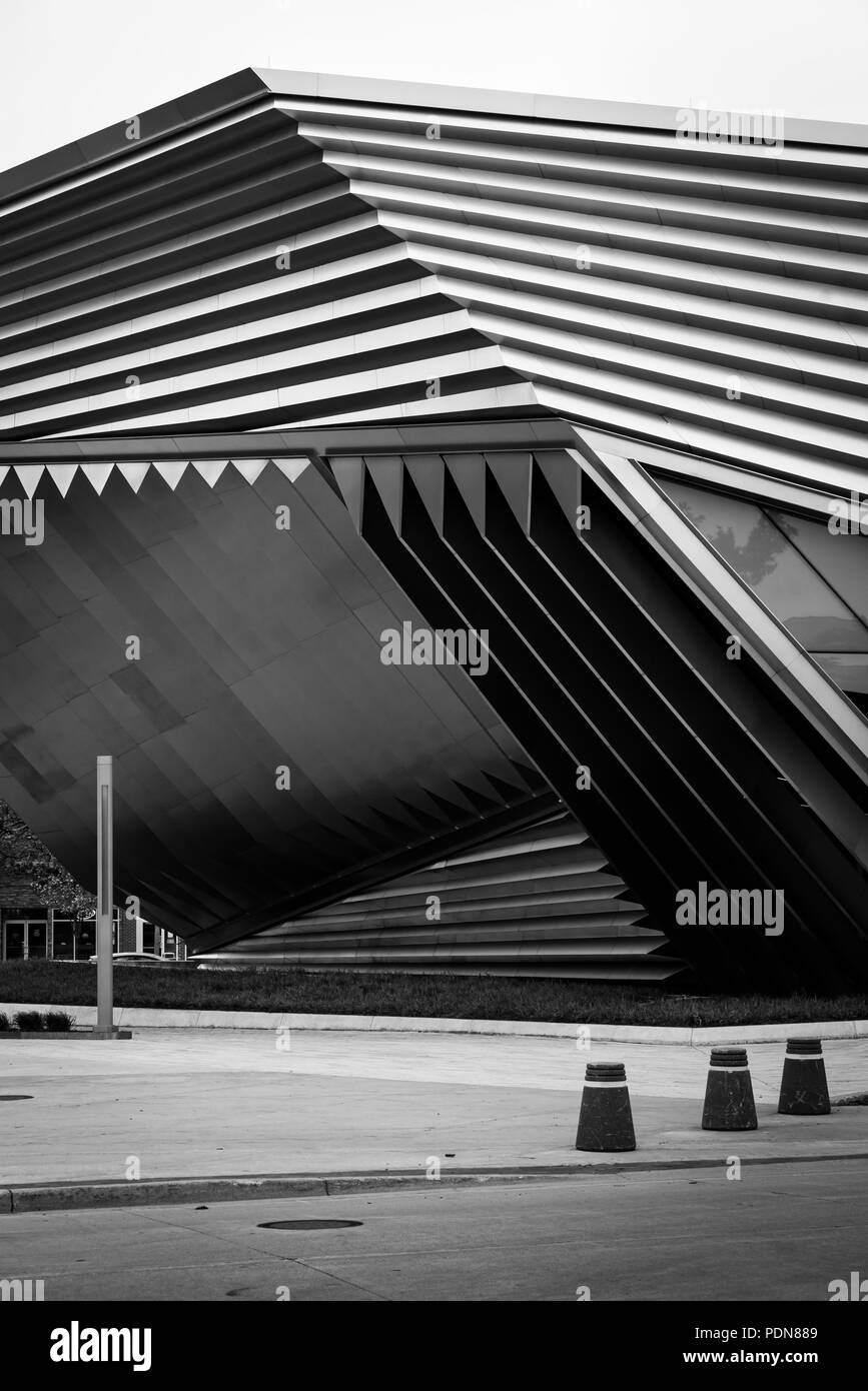 The Eli and Edythe Broad Art Museum at Michigan State University, in East Lansing, Michigan Stock Photo
