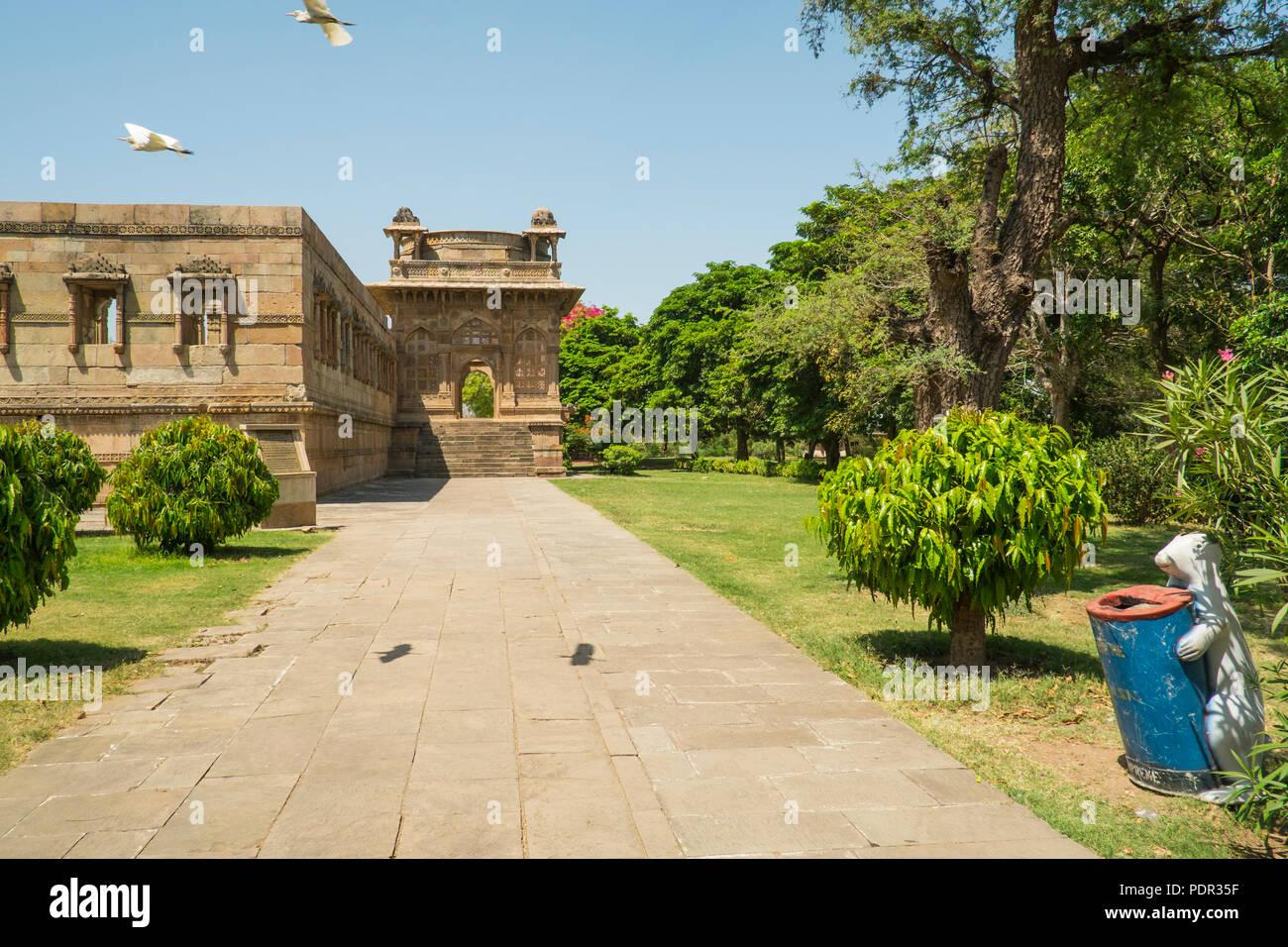 Champaner is a UNESCO World Heritage site near Vadodara in Gujarat. Stock Photo