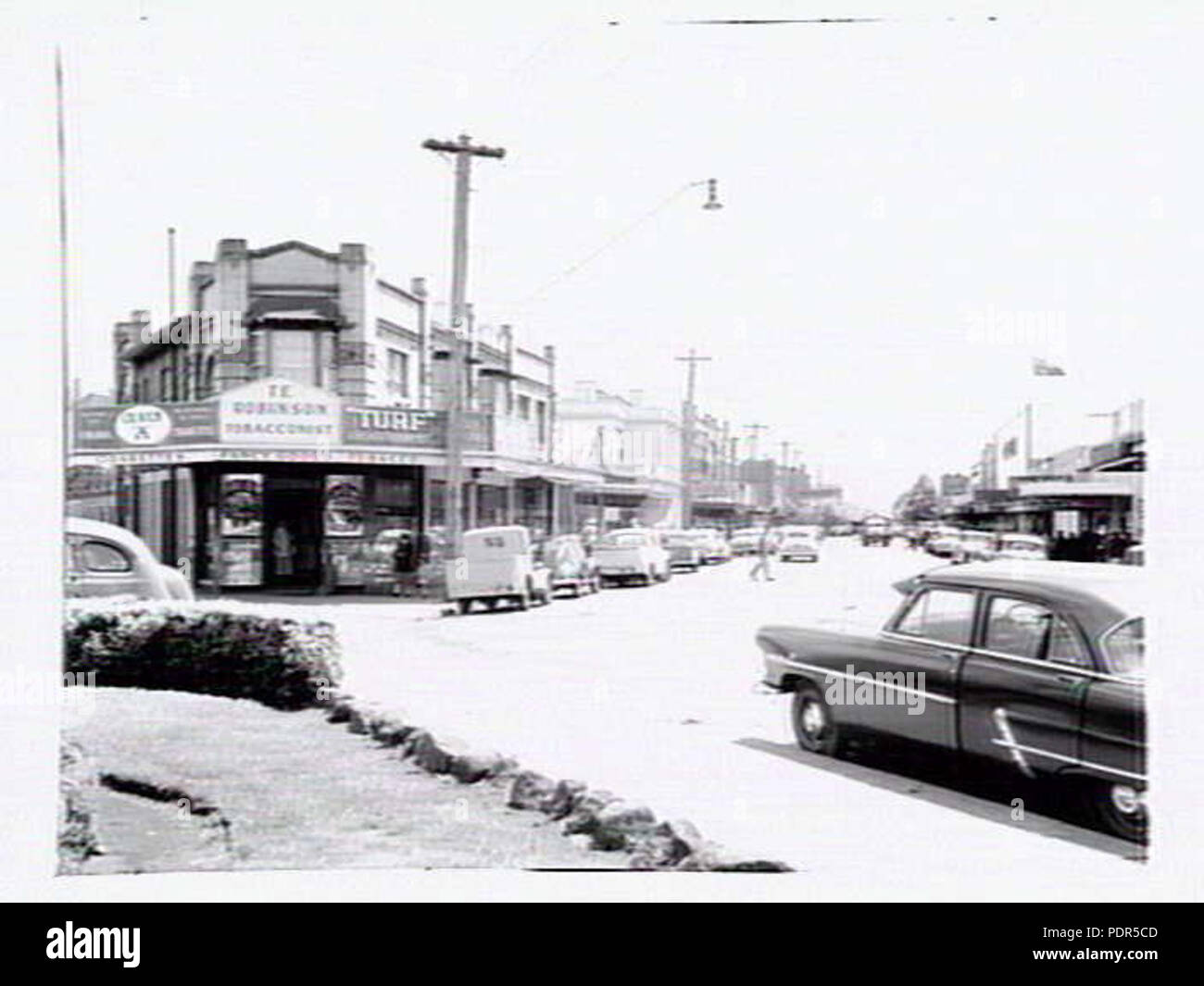 89 Newtown 1955 fairview avenue - Stock Image