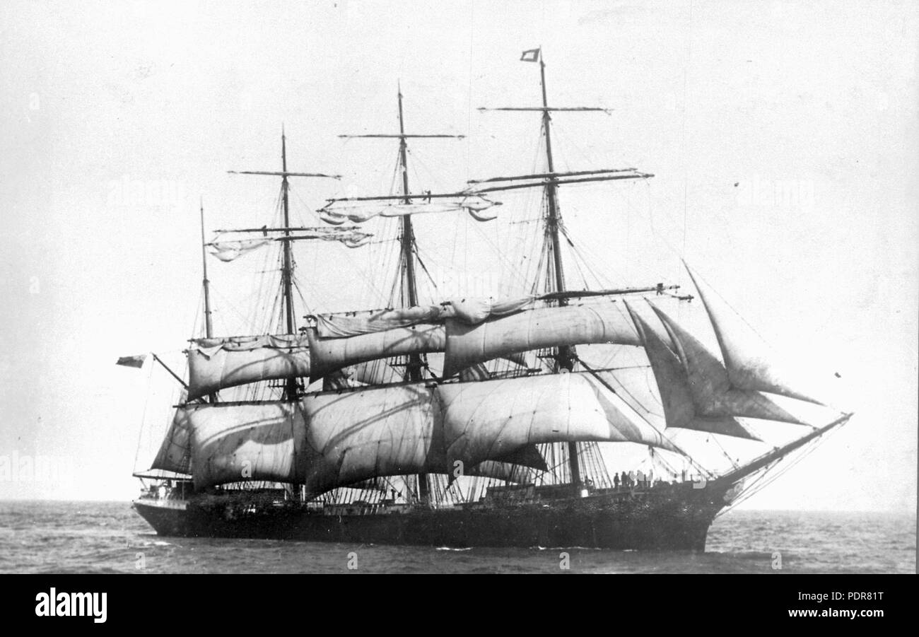 81 Lord Shaftesbury (ship, 1888) - SLV H99.220-2708 - Stock Image