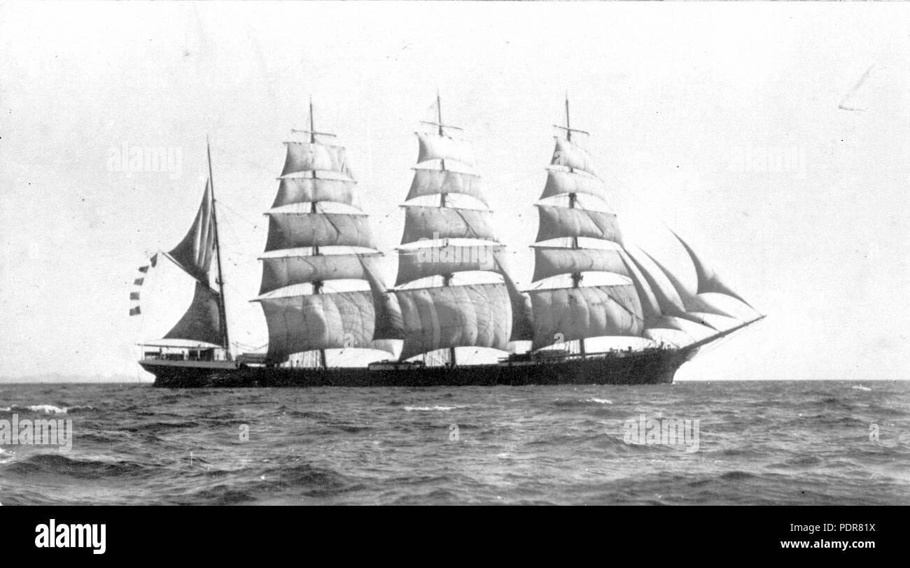 81 Lord Shaftesbury (ship, 1888) - SLV H99.220-3396 - Stock Image