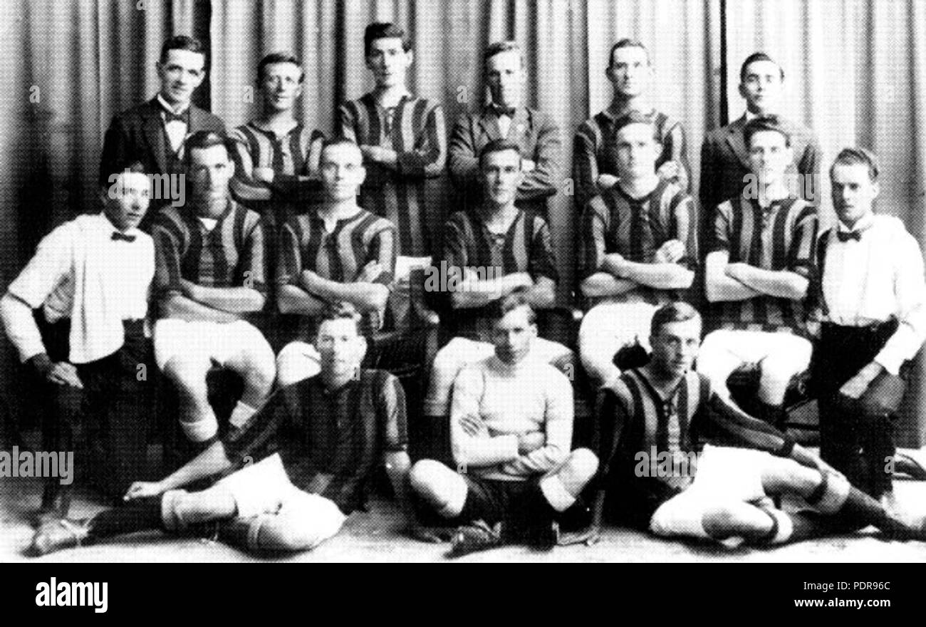 90 North Coast Representative side that played New Zealand in 1923 - Stock Image