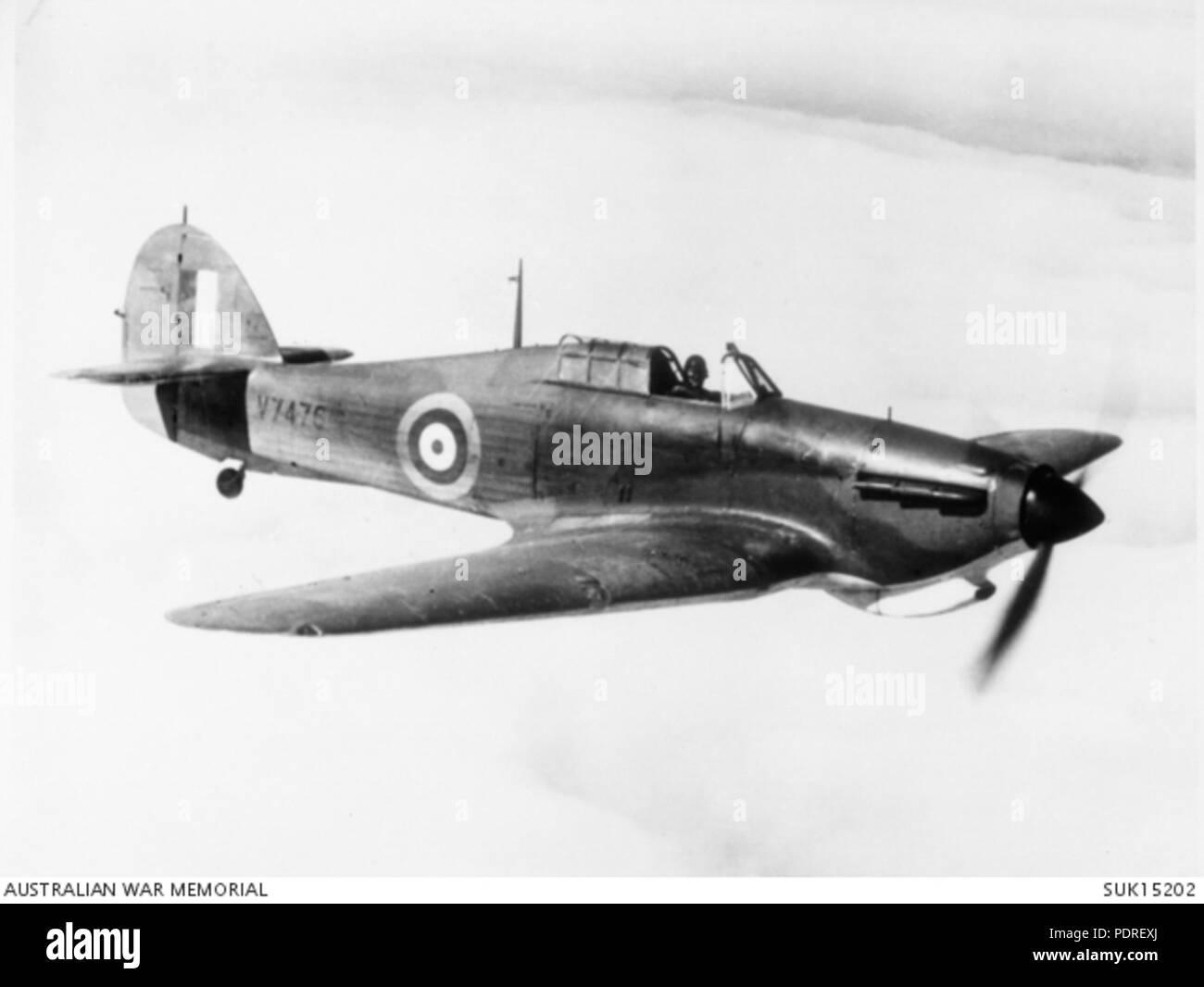 124 RAF Hurricane - Stock Image