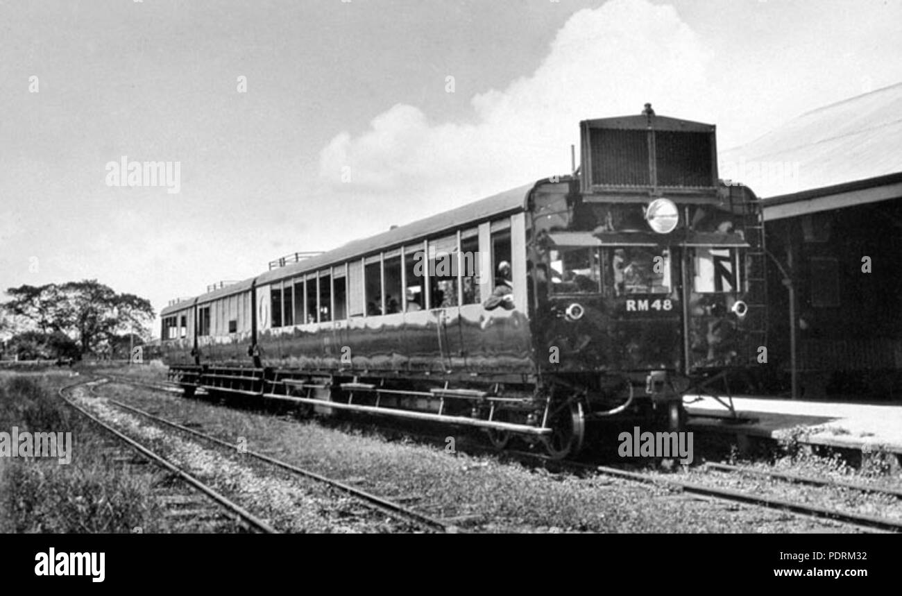 107 Queensland State Archives 2556 150hp Winton rail motor for Manly  Cleveland line Cleveland Redland December 1930