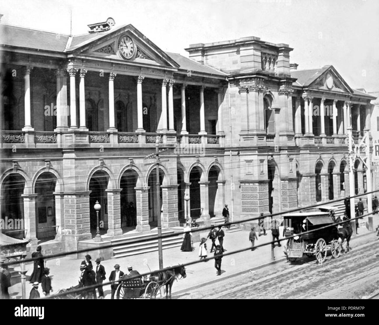 108 Queensland State Archives 2684 General Post and Telegraph Offices  Brisbane c 1890