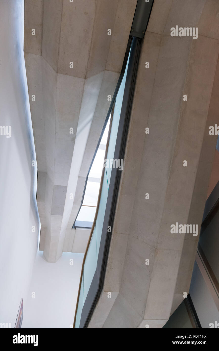 Brunei Gallery SOAS, London - Stock Image