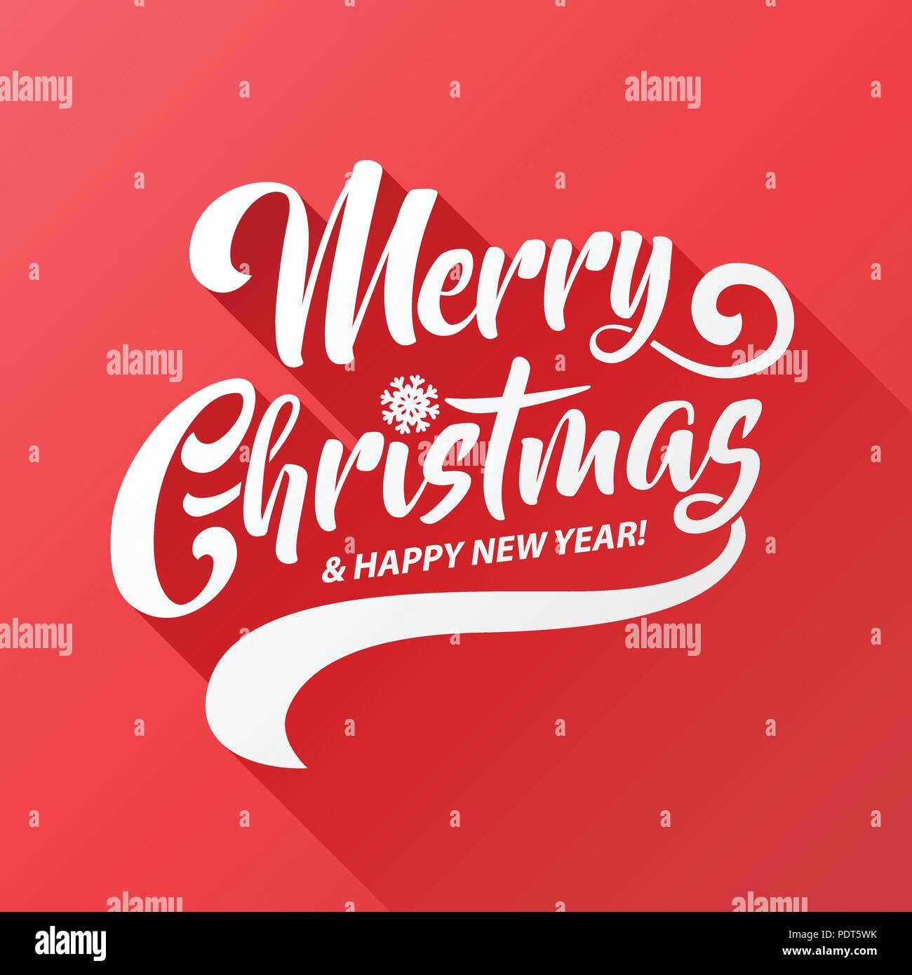 Merry christmas vector text calligraphic lettering long shadow merry christmas vector text calligraphic lettering long shadow design card template creative typography for holiday greeting gift poster calligraphy m4hsunfo