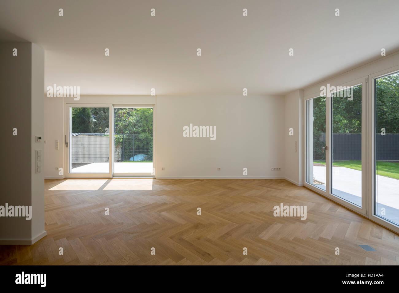 Krefeld, Wohnsiedlung Rott, Reymann Architekten 2018, Haus Nr. 6 ...