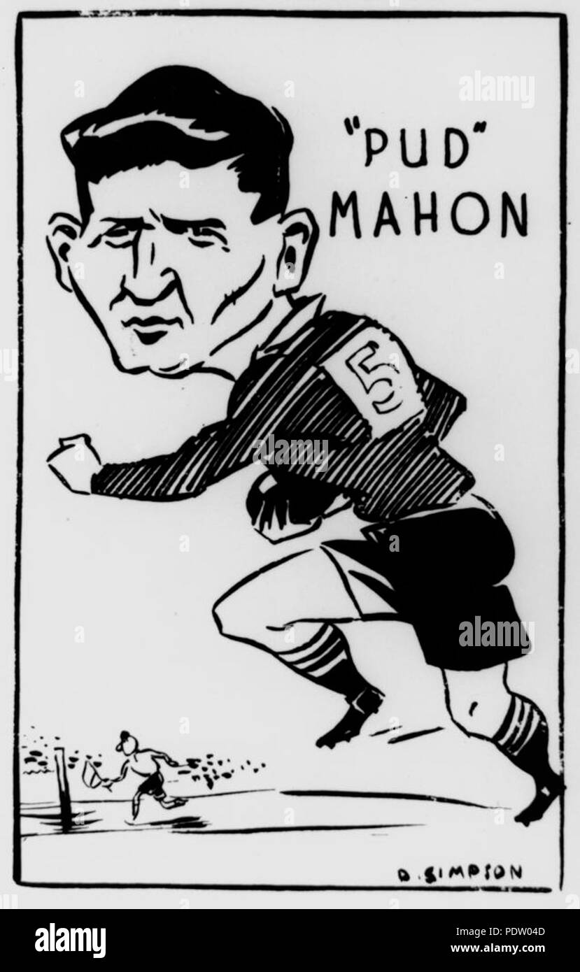 220 Statelibqld 1 135331 Cartoon Drawing Of Rugby League Footballer