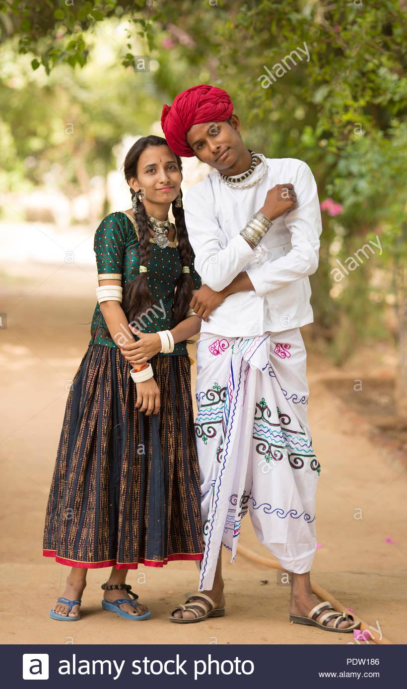 Indian Village Girl Stock Photos & Indian Village Girl Stock