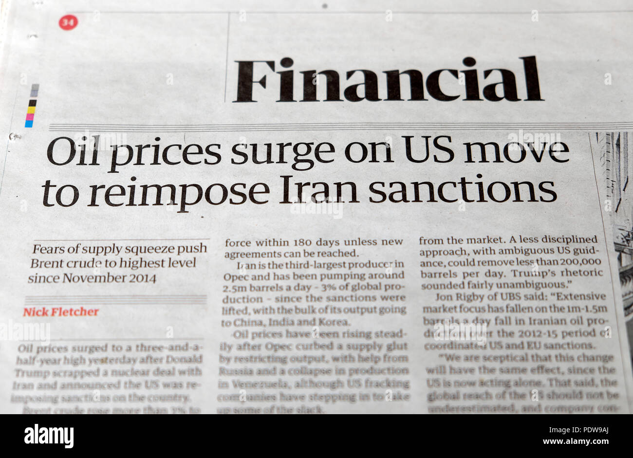 Obama Statement On Iran Election >> Guardian Newspaper Headline Us Britain Stock Photos & Guardian Newspaper Headline Us Britain ...