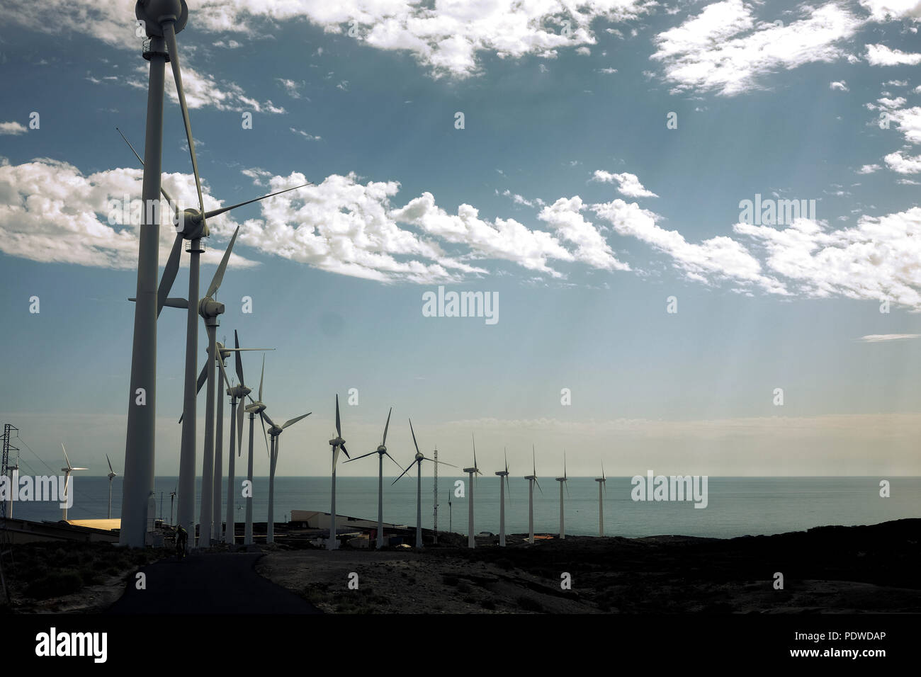 modern environment to produce energy and electricityu with clean