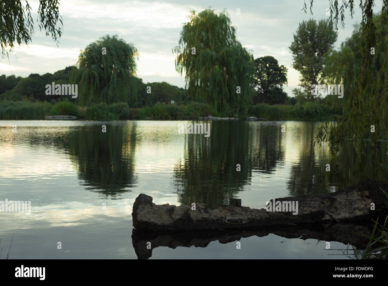 Foots Cray Meadows - Sidcup Stock Photo