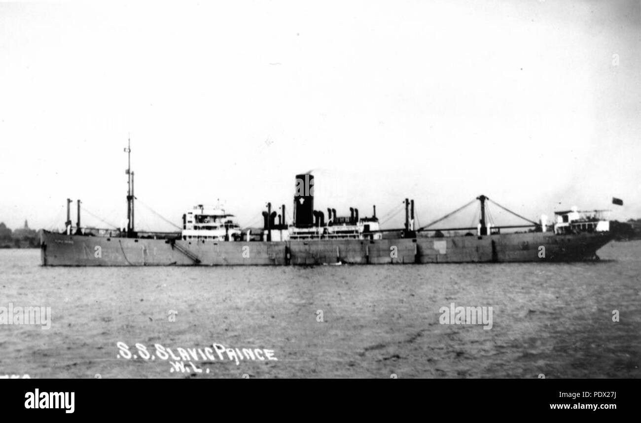 242 StateLibQld 1 172819 Slavic Prince (ship) - Stock Image