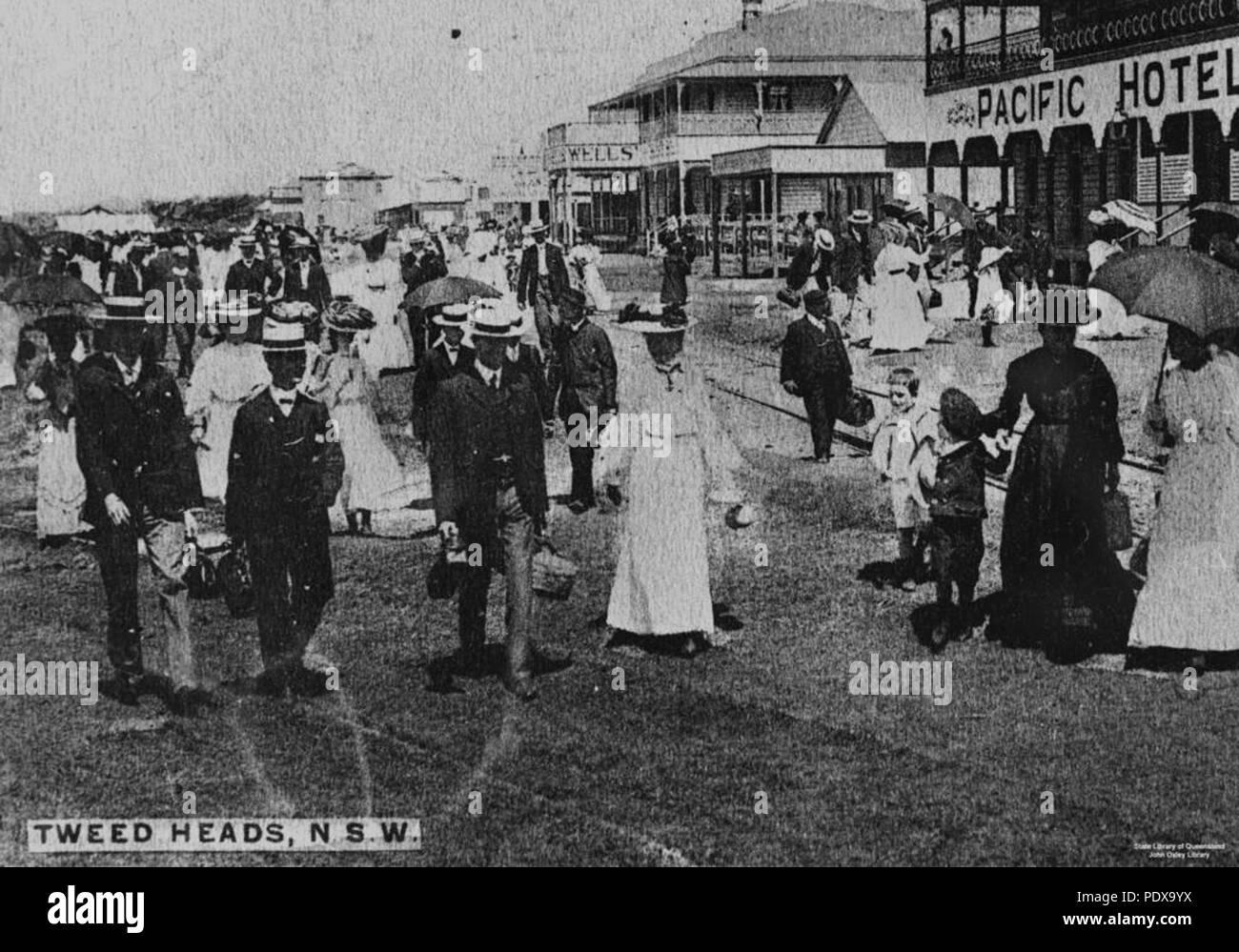 277 StateLibQld 1 95588 Wharf Street Tweed Heads NSW Ca 1906