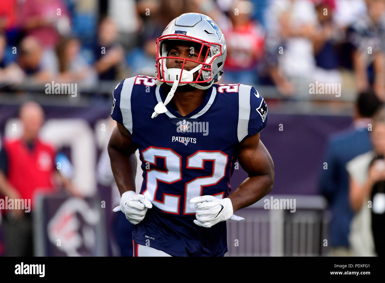 the best attitude 23c18 07525 August 9, 2018: New England Patriots running back Ralph Webb ...