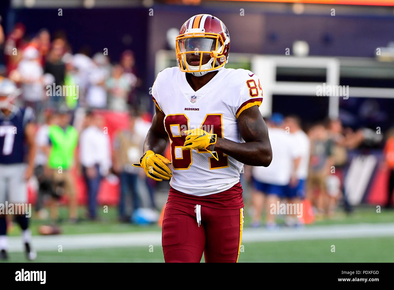 reputable site 7e0a7 0409d August 9, 2018: Washington Redskins wide receiver Darvin ...