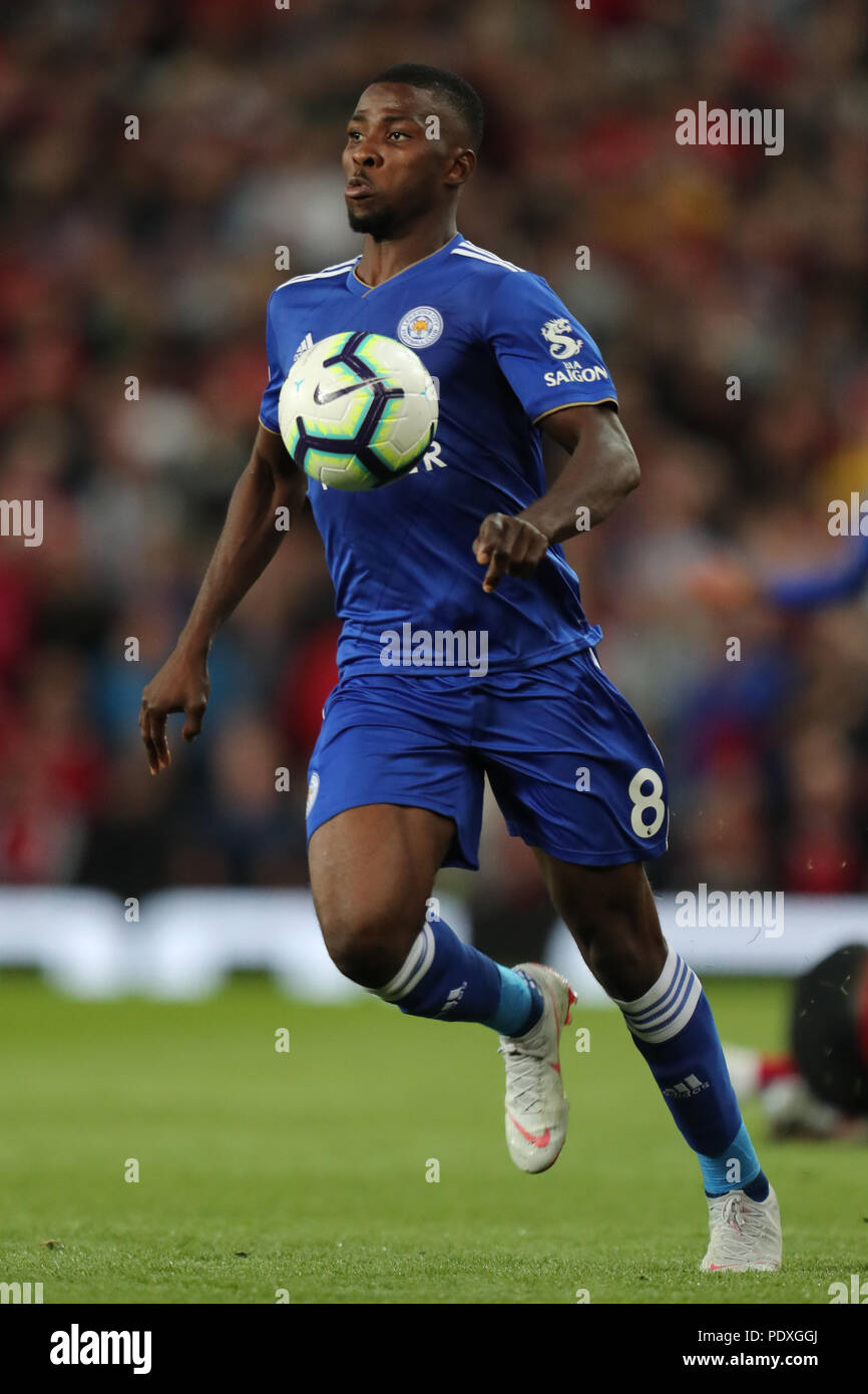 Kelechi Iheanacho LEICESTER CITY FC MANCHESTER UNITED FC V LEICESTER CITY FC 10 August 2018 GBC10268