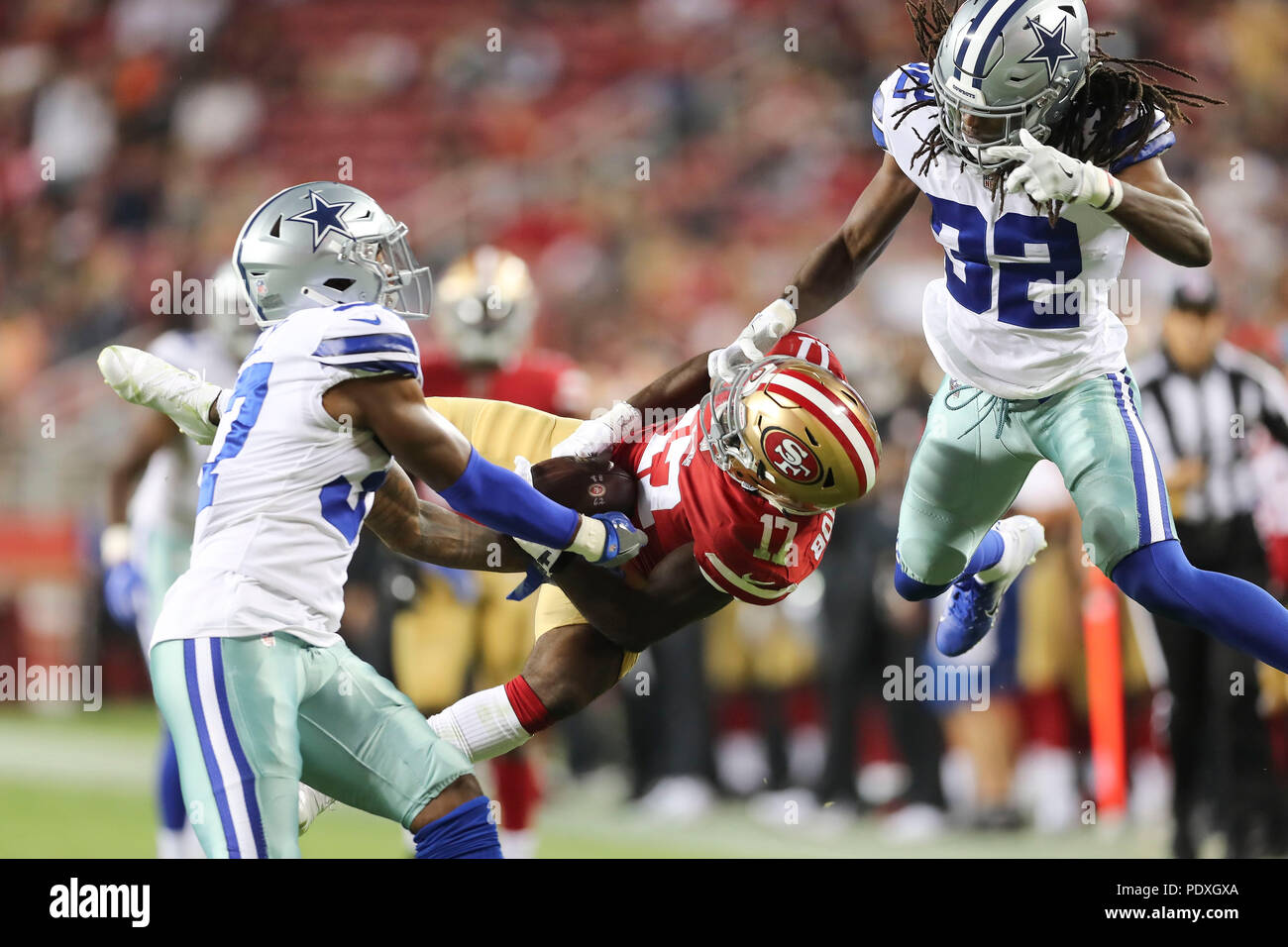 new concept 57a4f e8fe6 August 8, 2018: San Francisco 49ers wide receiver Victor ...