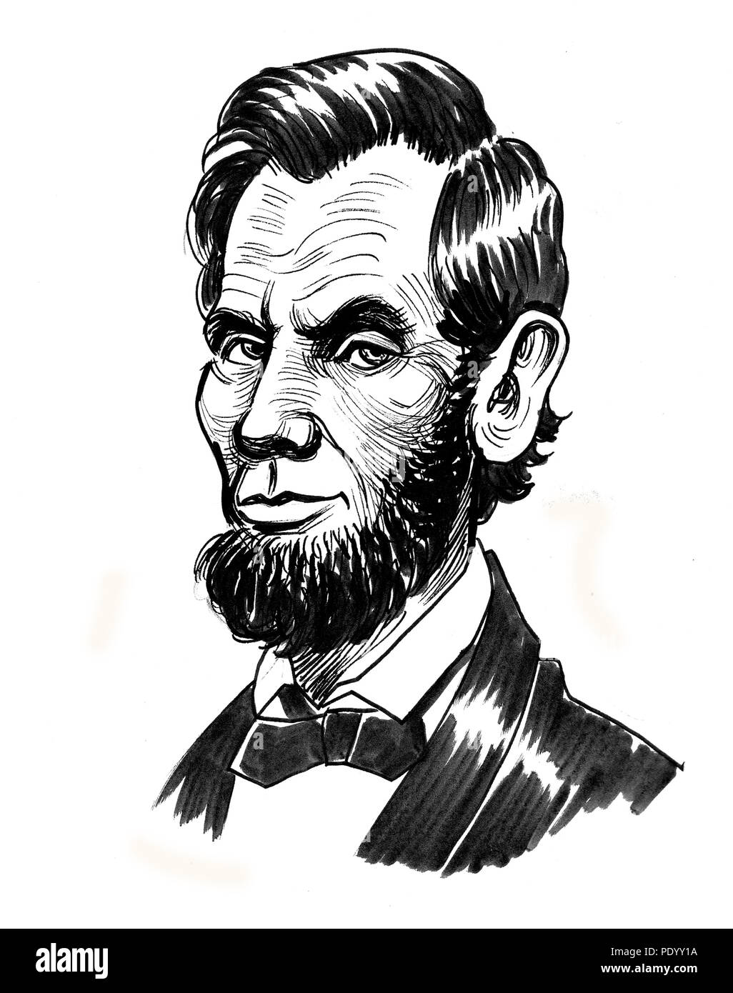 Abraham Lincoln Cut Out Stock Images Pictures Alamy