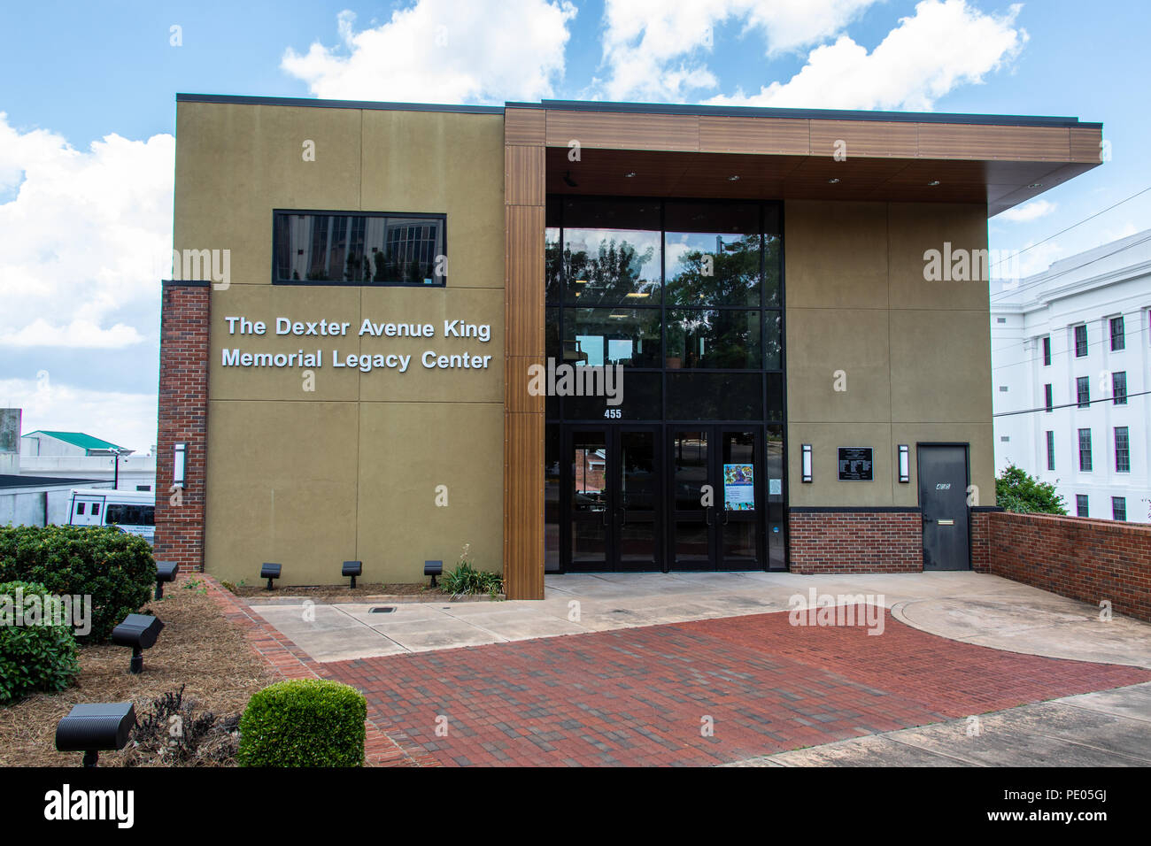 The Dexter Avenue King Memorial Legacy Center, Montgomery, Alabama, USA - Stock Image
