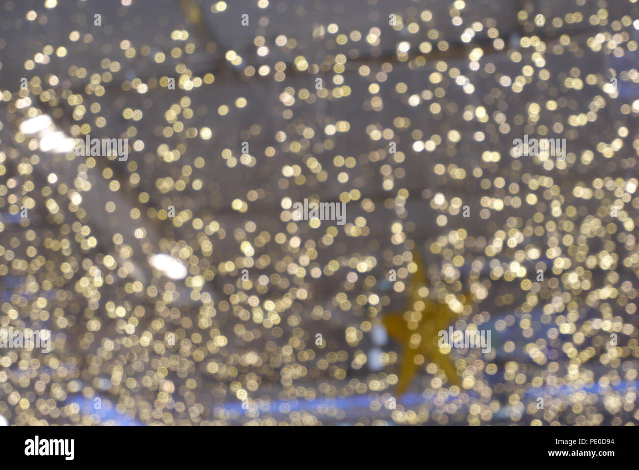 Bokeh Wallpapers High Quality: Abstract Yellow Bokeh Circles For Christmas Background