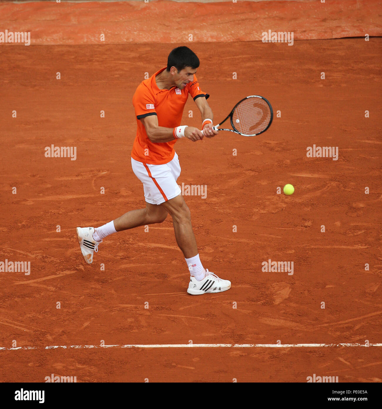 be860717a3 Eight times Grand Slam champion Novak Djokovic during second round ...