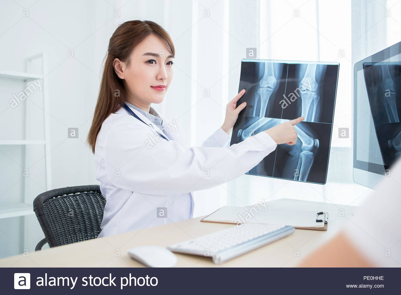 Orthopedist is working - Stock Image