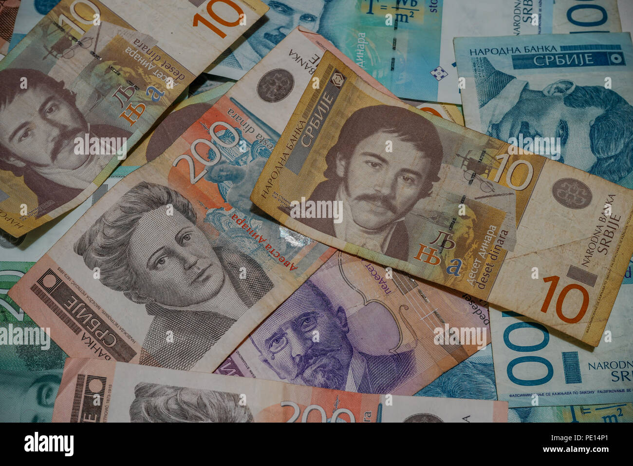 Money is any item or verifiable record that is generally accepted as payment for goods and services and repayment of debts in a particular country or  - Stock Image