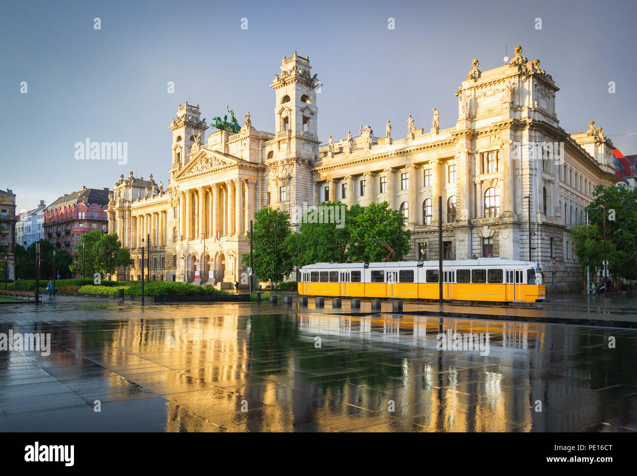 Museum of Ethnography - Budapest, Hungary - Stock Image