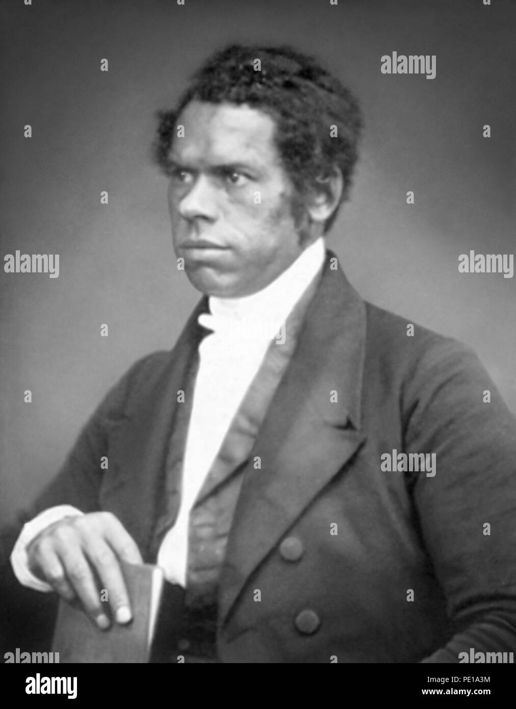 Thomas Birch Freeman (1809–1890) was a British Methodist missionary and colonial official in West Africa. The son of an English mother and an African freed slave father, Baldwin was successful in forging relationships with African leaders and establishing churches and schools, including three schools for girls. - Stock Image