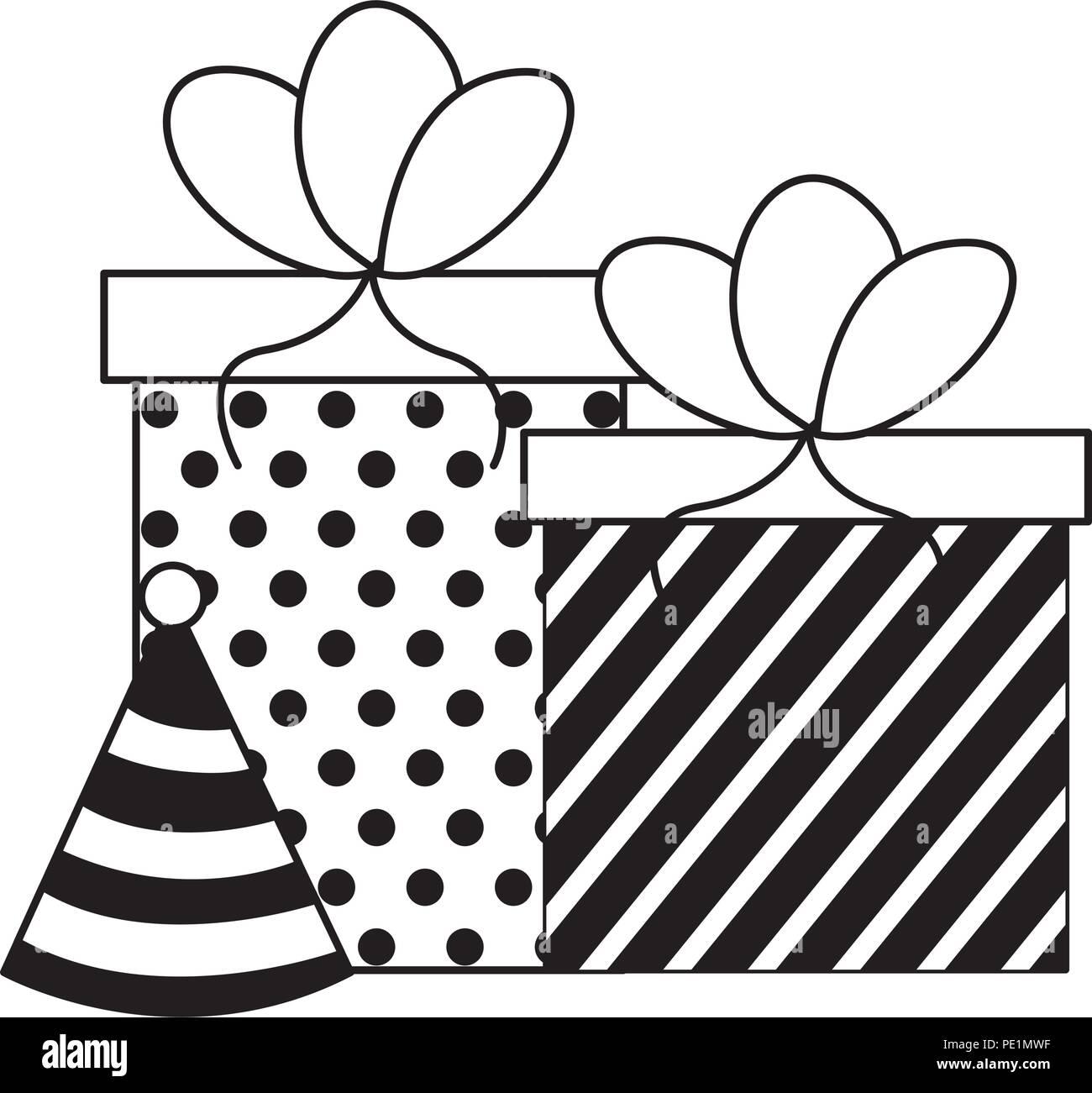 Party Hat - Party Hat Clip Art Black And White, HD Png Download ,  Transparent Png Image - PNGitem