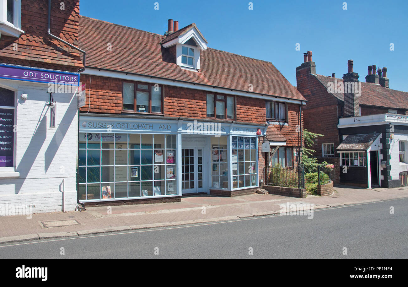 Hurstpierpoint Village Helth Clinic Shop Sussex - Stock Image