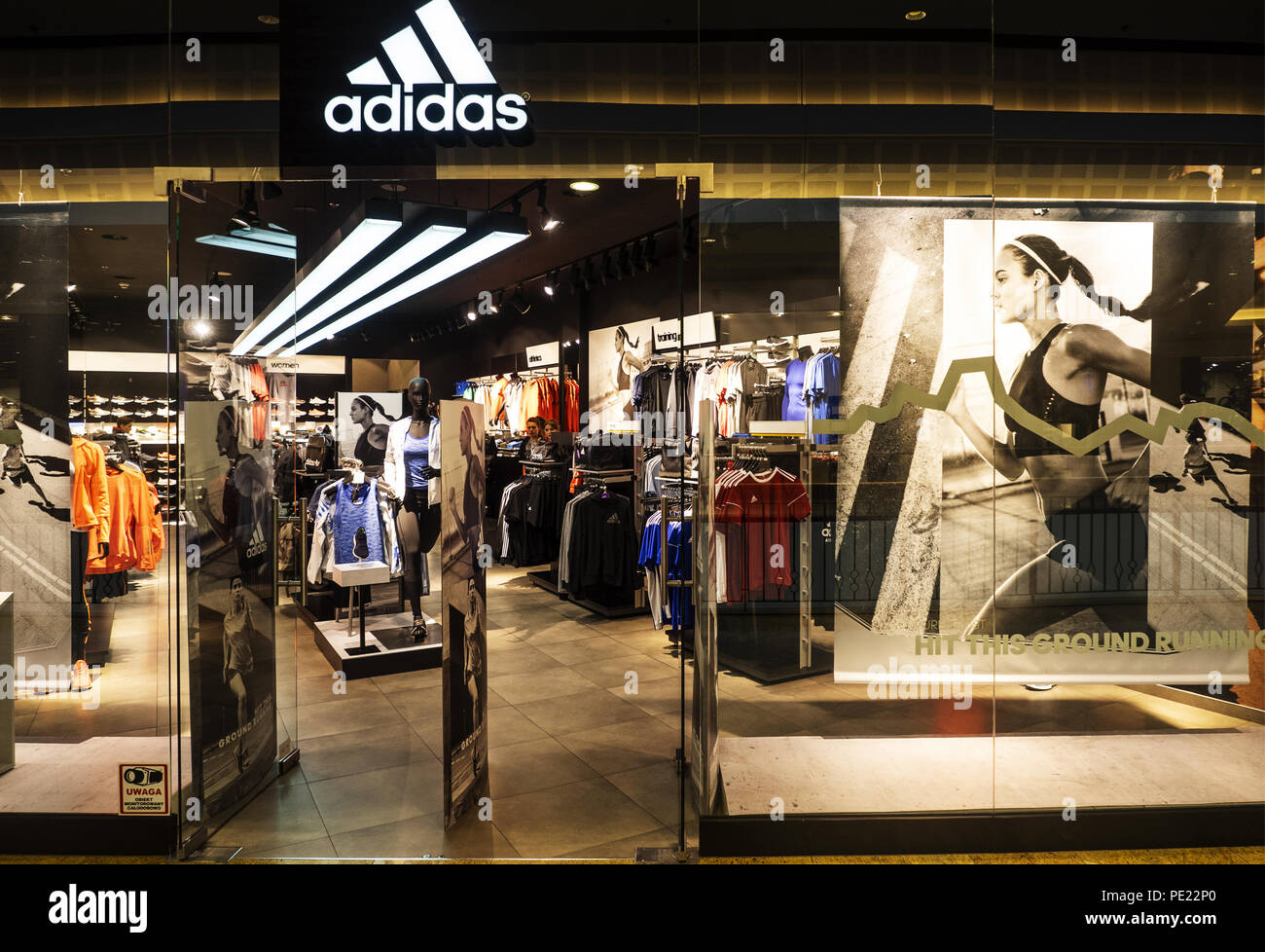 Adidas Store Stock Photos & Adidas Store Stock Images - Alamy