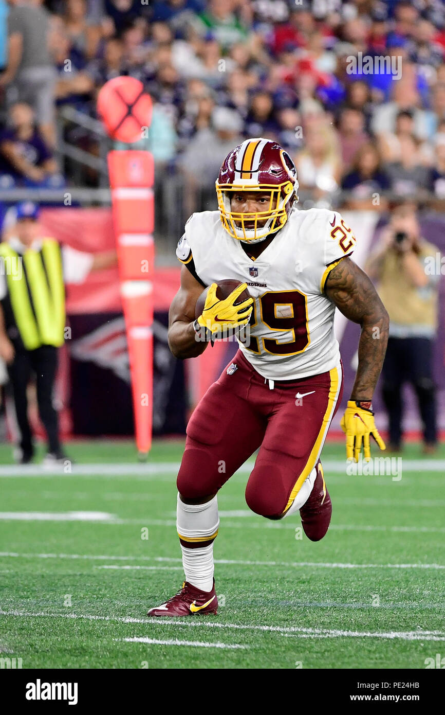pretty nice 7d21f a7298 August 9, 2018: Washington Redskins running back Derrius ...