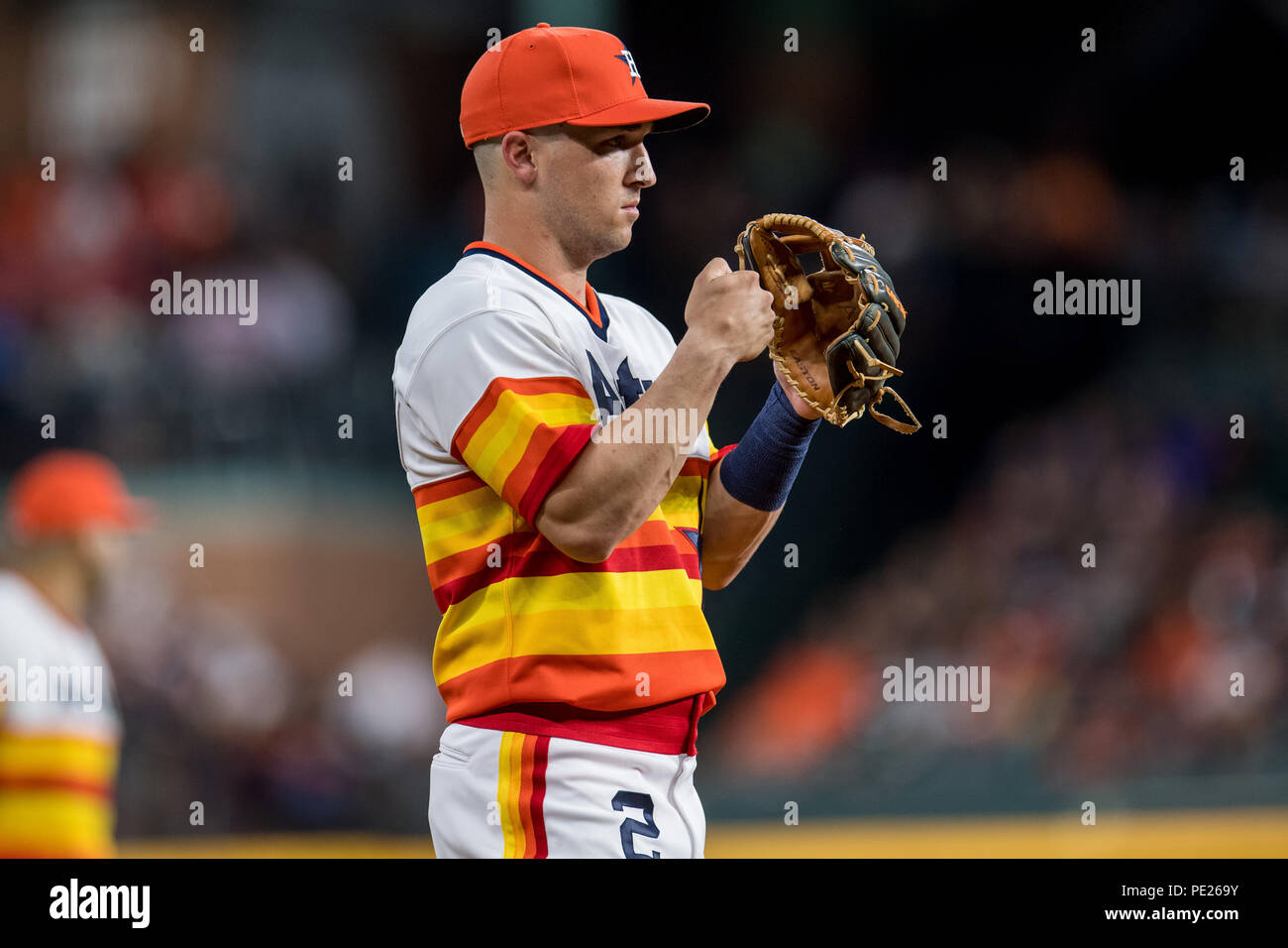 new concept 288a7 54c78 August 10, 2018: Houston Astros third baseman Alex Bregman ...