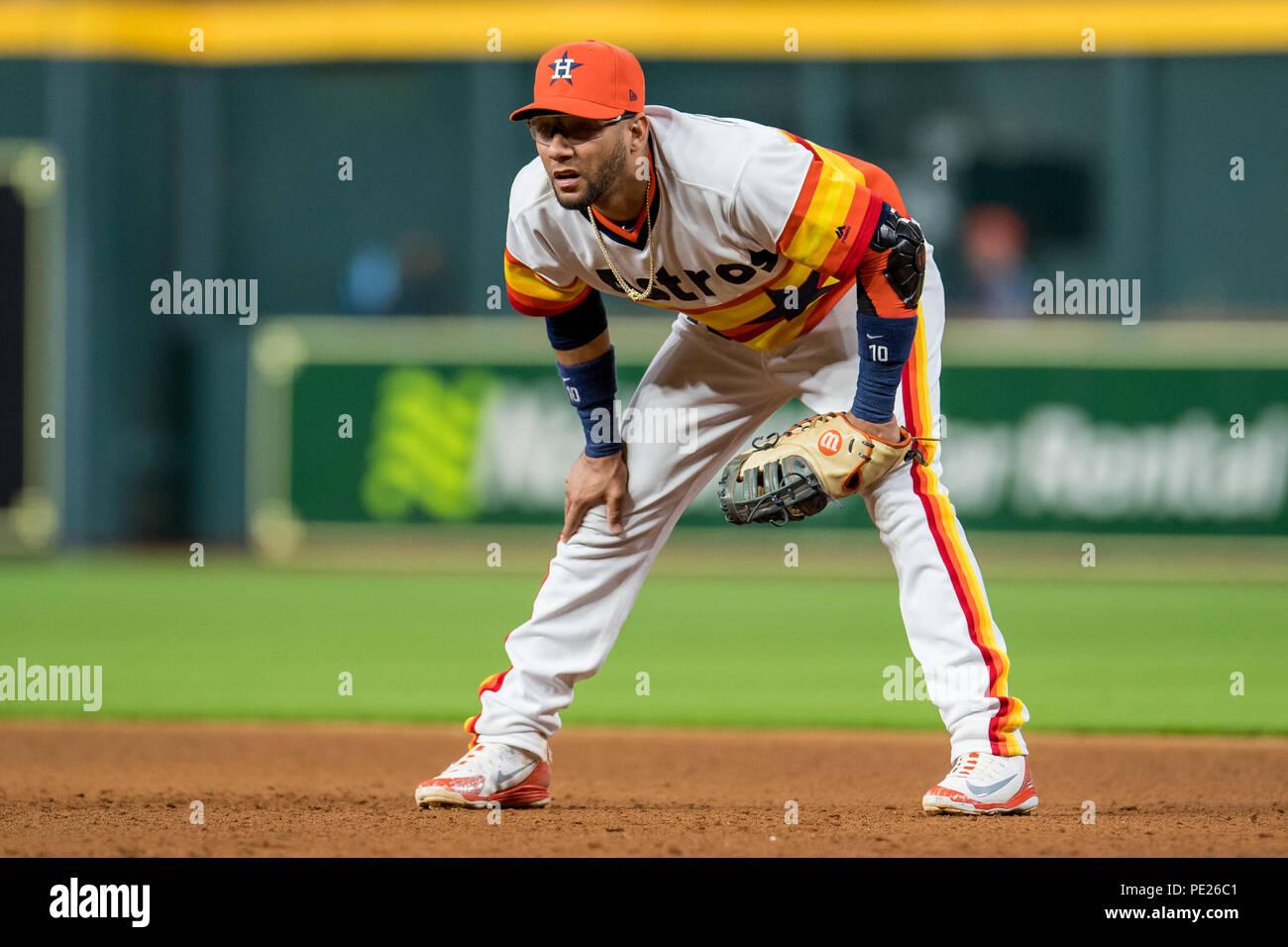 quality design 92552 b3697 August 10, 2018: Houston Astros first baseman Yuli Gurriel ...