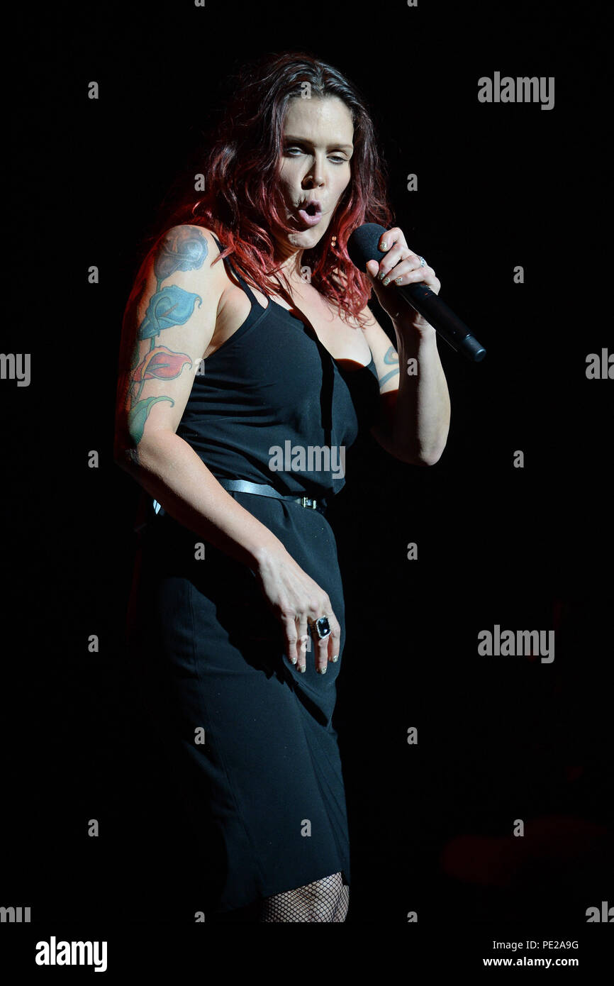 Fort Lauderdale FL, USA  11th Aug, 2018  Beth Hart performs at The