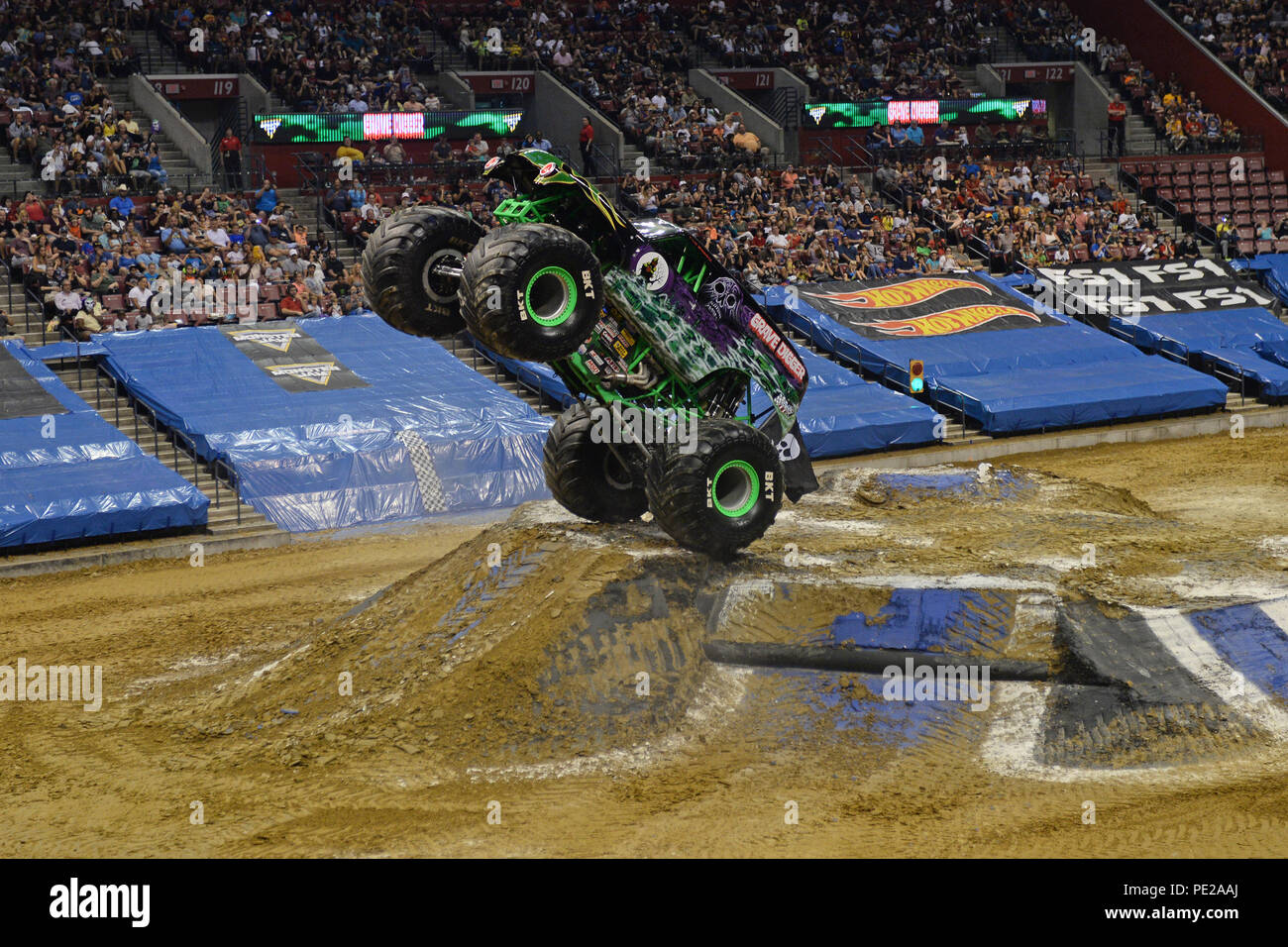 Sunrise FL, USA  11th Aug, 2018  Monster Jam at The BB&T